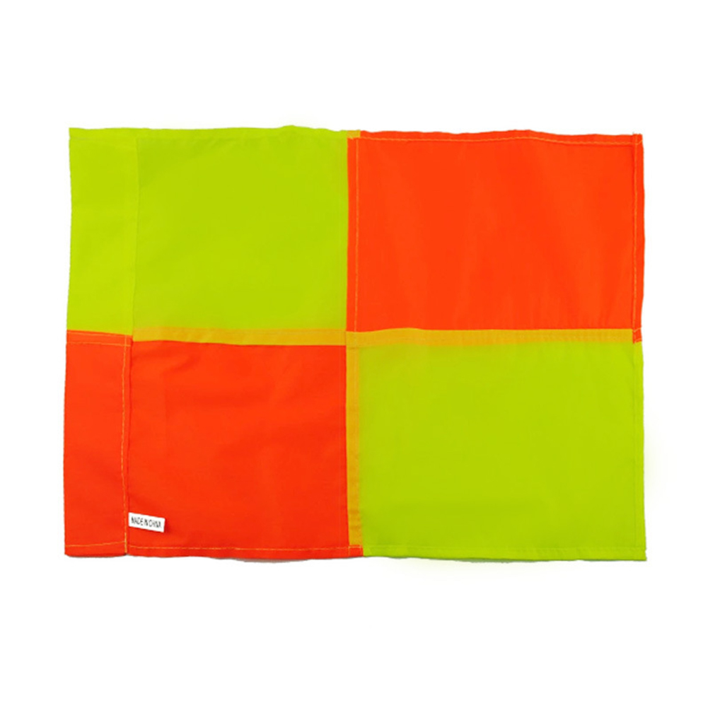 Soccer Referee Flag For Fair Play Sports Match Football Rugby Hockey Training Linesman Flags Style:Fluorescent orange... by