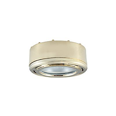 JESCO PK200 Slim Disk Round Halogen Plastic Puck Under Cabinet Light Halogen Cabinet Light