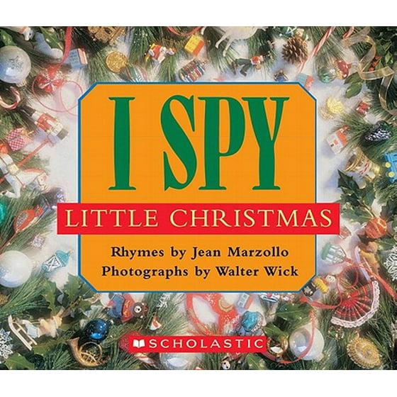 Christmas Board Design.I Spy Little Christmas Board Book