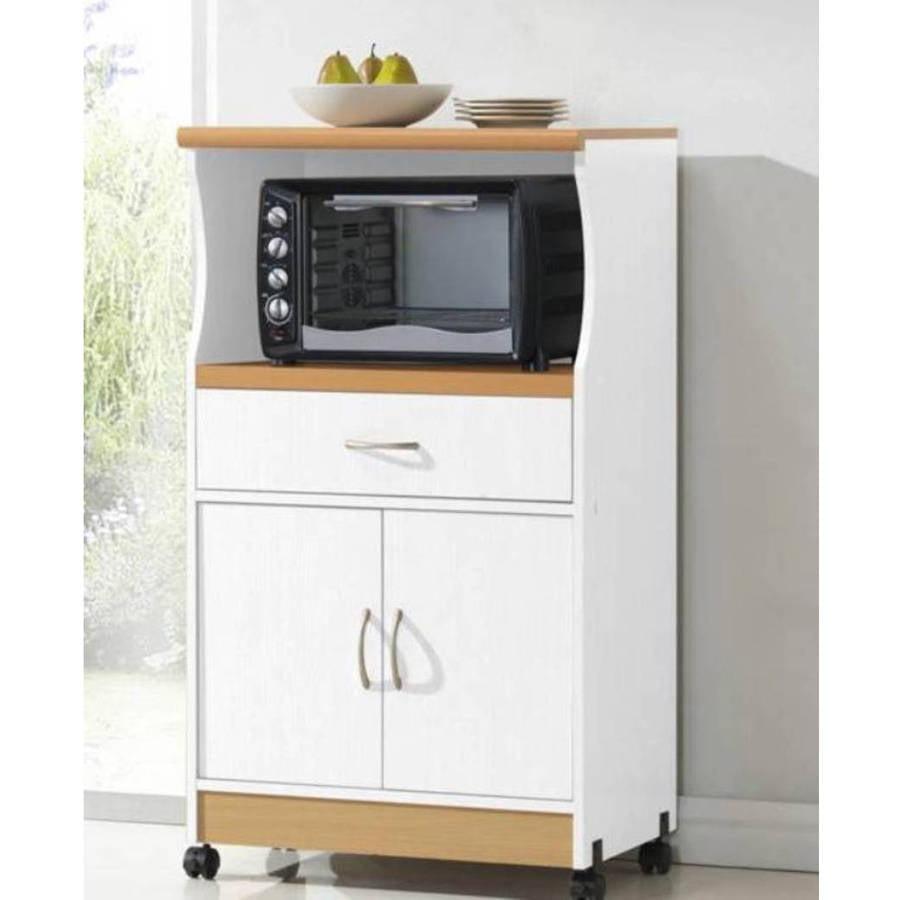 Kitchen Storage Cabinet Table Shelf Organizer Dining Furniture Microwave Cart
