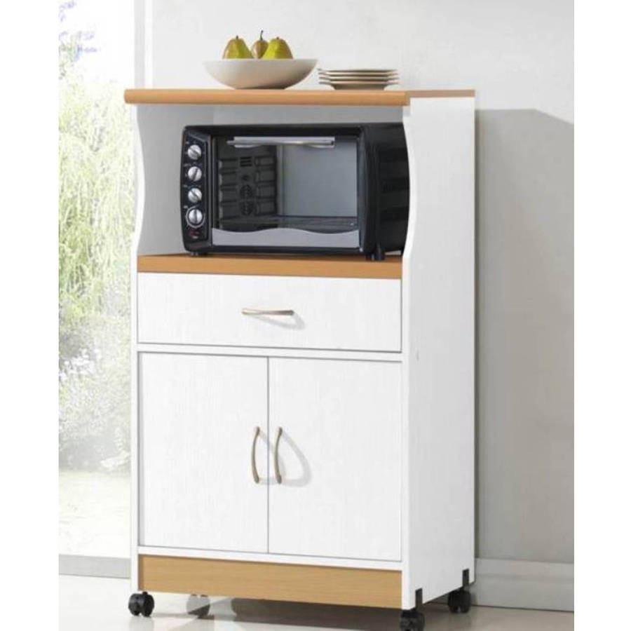 Hodedah Microwave Stand Multiple Colors Walmart Com