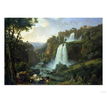 The Falls of Tivoli, 1822 Print Wall Art By Jan Brueghel the Elder ()