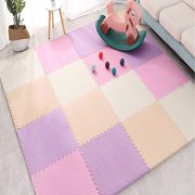 EVA Foam Chi Mat Baby Floor Pla Mat with Edges - Suitable for Chi's Play Area Bedroom Living Room Gym - Home DecorationC6