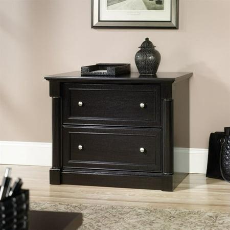 Sauder Palladia 2 Drawer File Cabinet in Wind Oak File Oak Veneer