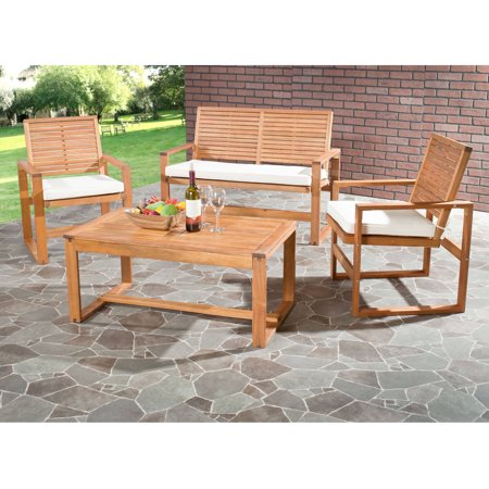 Safavieh Ozark 4 Piece Outdoor Set