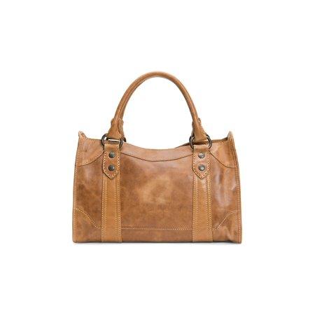 Melissa Leather Satchel Leather Print Hobo Bag