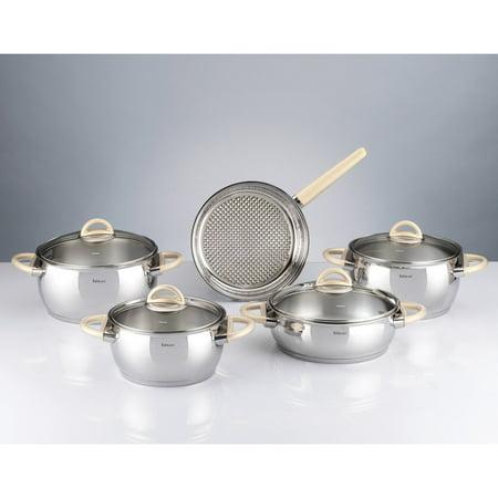 Hisar Bahama 9 Piece Cookware Set
