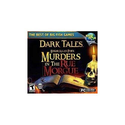 Big Fish Games DARKTLMURDMORG Dark Tales Murder In The Rue Morgue