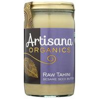 Artisana Organics Raw Tahini Sesame Seed Butter, 14 Oz, Pack Of 6