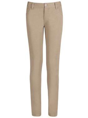 Real School Girls School Uniform 5-Pocket Stretch Skinny Pants (Little Girls & Big Girls)