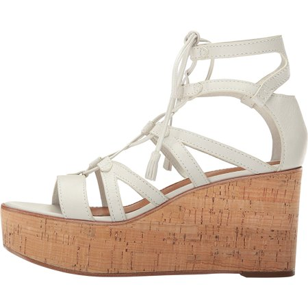 ae1425d498f Frye Women's Heather Gladiator Wedges, White, Size 9.0 | Walmart Canada