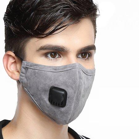 masque anti pollution avec filtre lavable