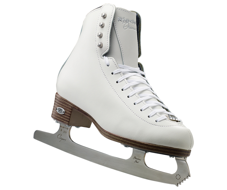 Riedell Model 133 Diamond Ladies Figure Skates by