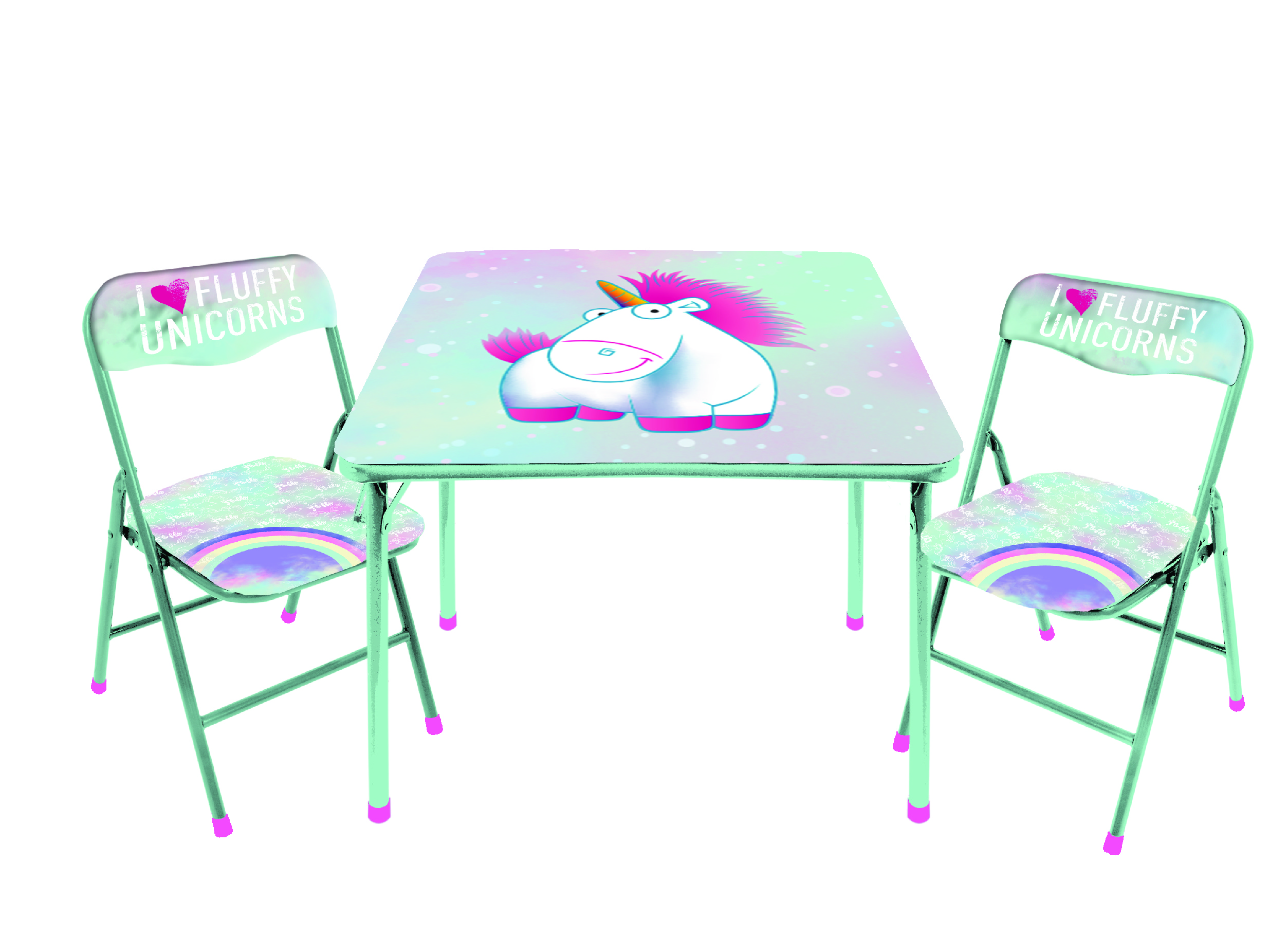 Multicolor Nickelodeon Sunny Day 3 Pc Table /& Chair Set