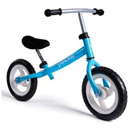 e73256876a2 WonkaWoo Ride and Glide Mini-Cycle Balance Bike, Light Blue, 12