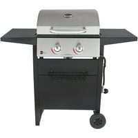 RevoAce 2-Burner Space Saver Gas Grill, Stainless and Black, GBC1705WV