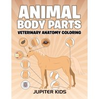 Animal Body Parts: Veterinary Anatomy Coloring (Paperback)