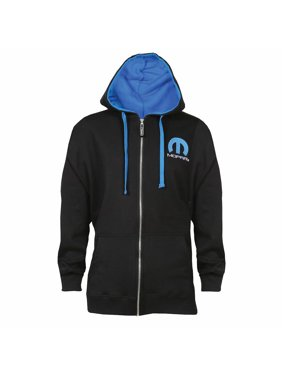 0409f284 Product Image DAVID CAREY Unisex Adult Officially Licensed Mopar Omega Logo  Zippered Hoodie