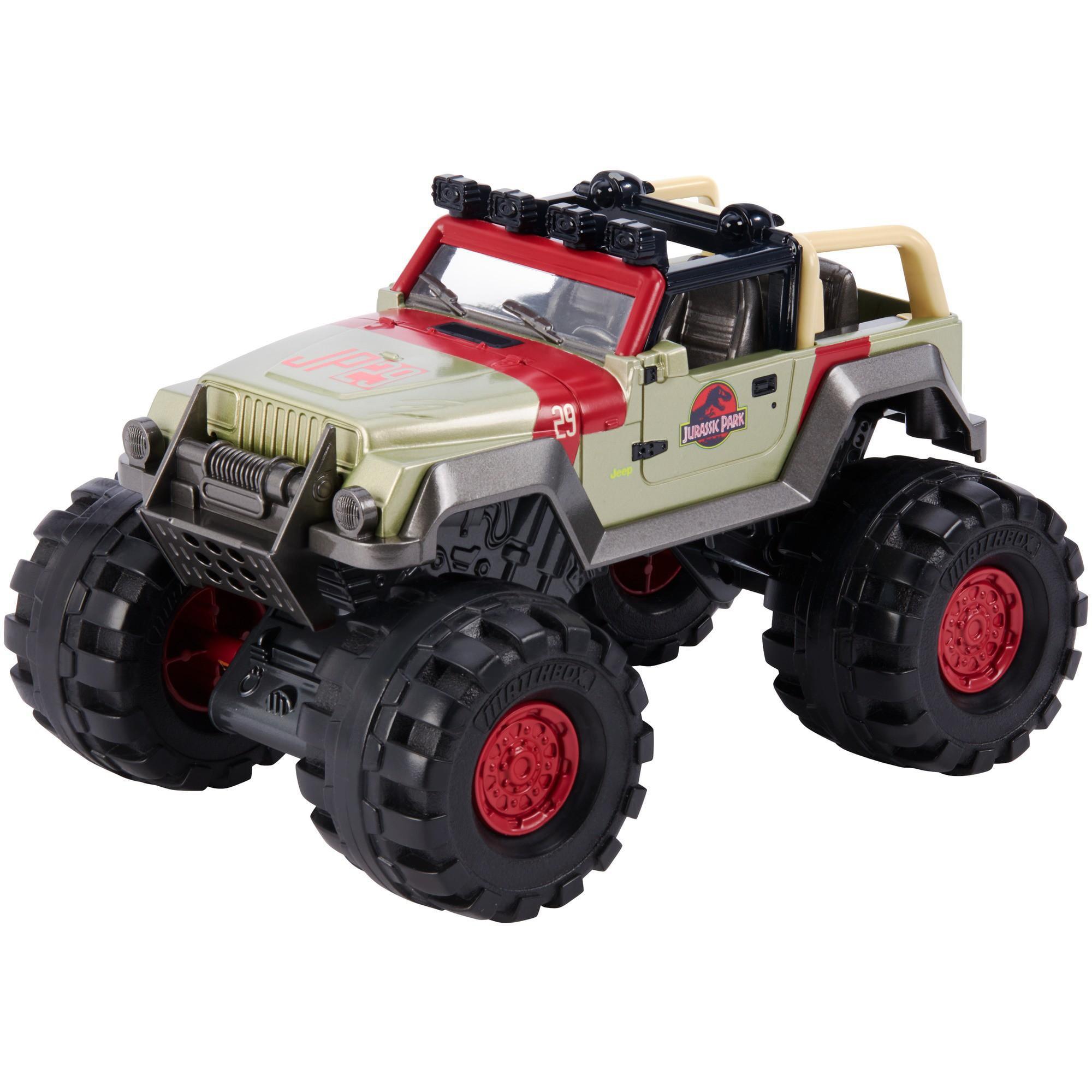 Matchbox Jurassic World '93 Jeep Wrangler by Mattel