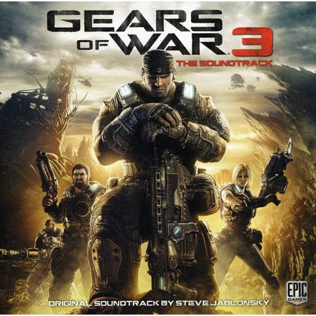 Gears of War 3 (Original Game Soundtrack) (CD) (Metal Gear Solid 4 Soundtrack Father And Son)