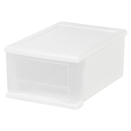 IRIS USA, Inc. 7 Qt. Stacking Drawer, White