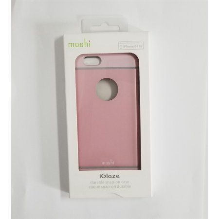 Moshi iGlaze Ultra Slim Couverture durable Snap-on pour iPhone 6 / 6s - Rose