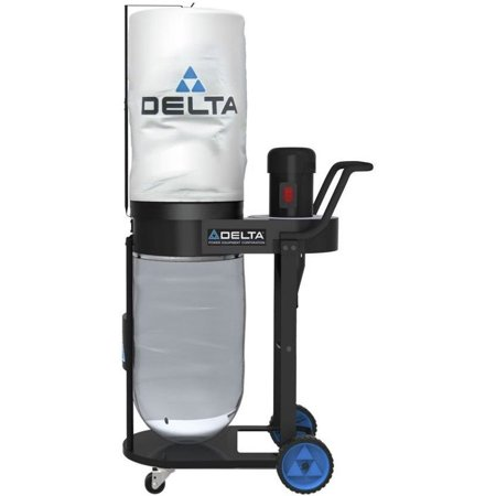 Delta 50-723T2 1HP 750CFM Dust Collector, Type 2 (Delta 50 760 Dust Collector Replacement Bags)