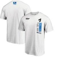 Dallas Fuel Fanatics Branded Down Low T-Shirt - White