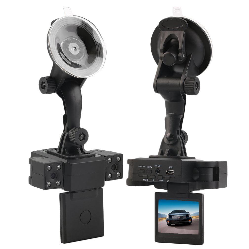 IR Night Vision Dual Lens Camera Vehicle Car DVR Dashboard Video Recorder