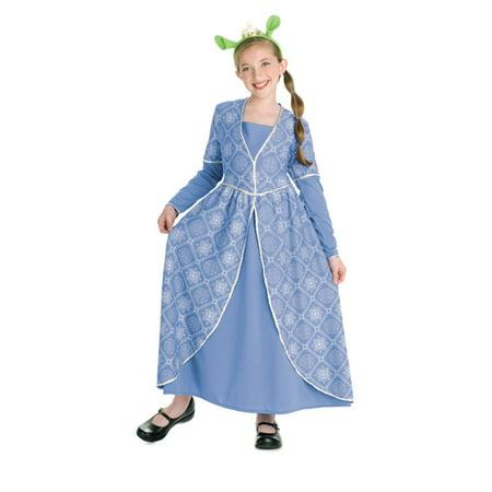 PRINCESS FIONA SHREK  kids girls halloween costume M (Shrek And Fiona Halloween Costumes Plus Size)