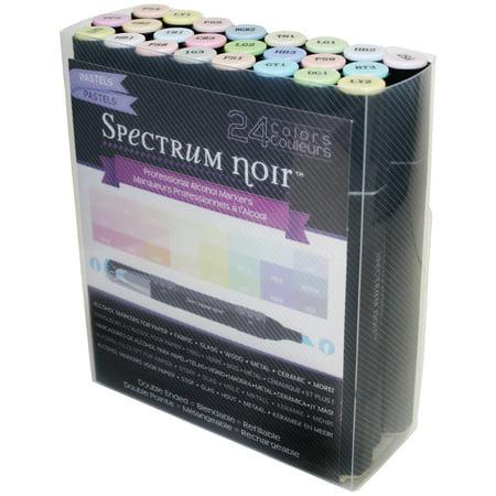 Spectrum Noir Alcohol Markers 24/Pkg Pastels