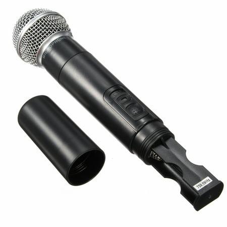 Dual Professional Wireless Microphone Cordless Handheld Mic Kareoke KTV Party DJ Equipment - image 8 of 13