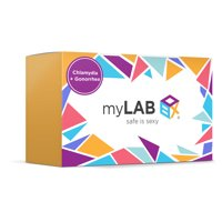 MyLab Box Chlamydia + Gonorrhea At Home STD Test + Mail-in Kit for WOMEN