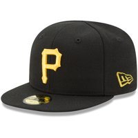 Pittsburgh Pirates New Era Infant Authentic Collection On-Field My First 59FIFTY Fitted Hat - Black