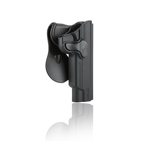 CYTAC 1911 Paddle Holster with Trigger Release 360 degree Adjustable Cant, Polymer Holster Injection Molded for 1911 5