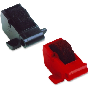 DPC EA781R RED/BLK INK ROLLER PACK OF 2