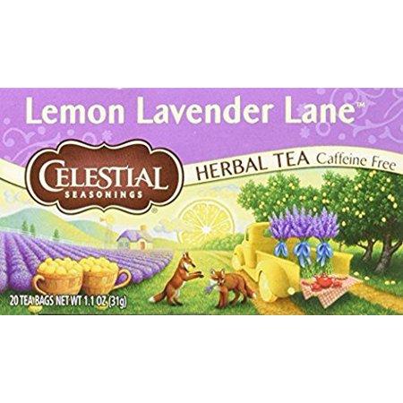 Celestial Seasonings Lemon Lavender Lane tea, Pack of 3 09 Lavender Tea
