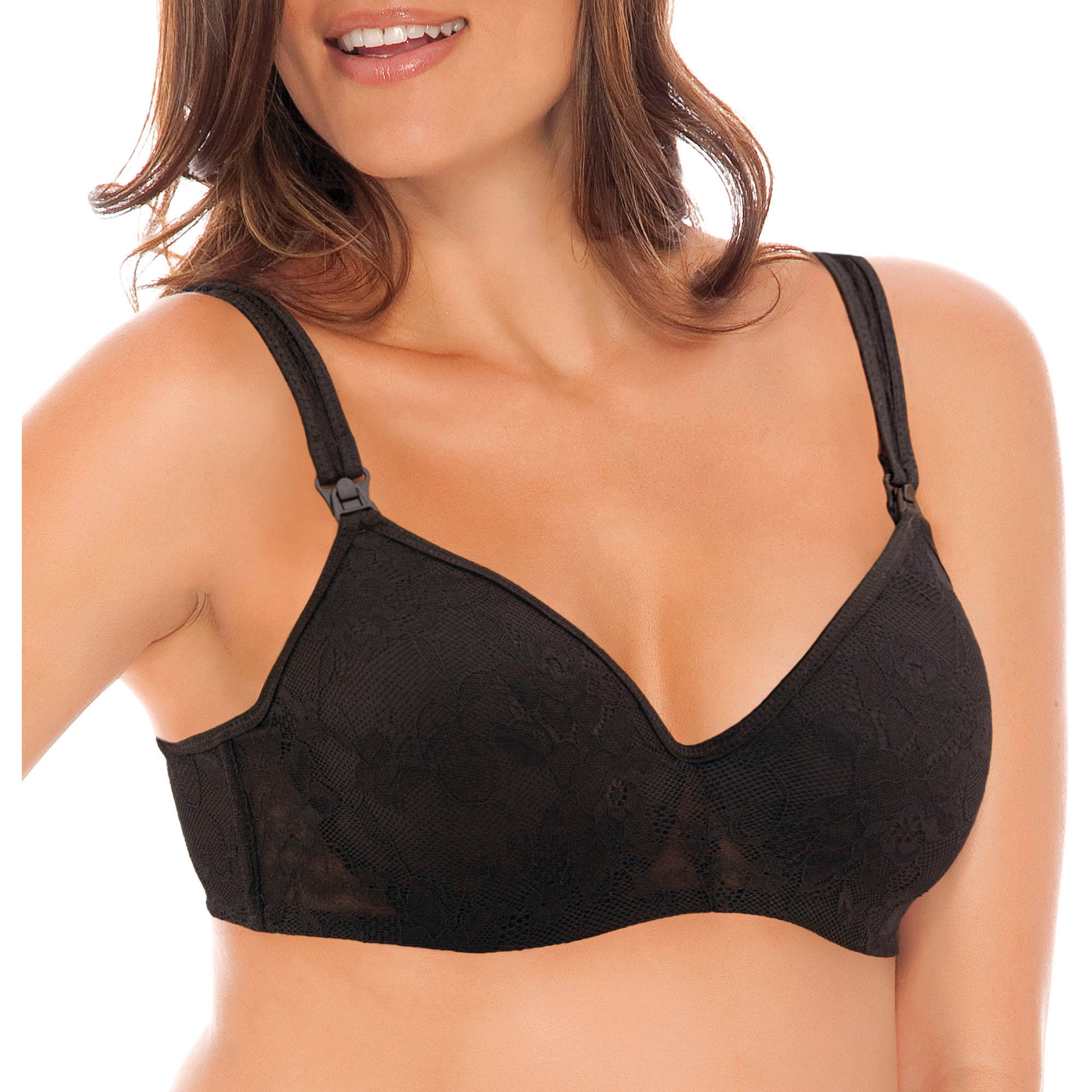 Nurture by Lamaze Maternity Molded Cup Lacey Nursing Bra