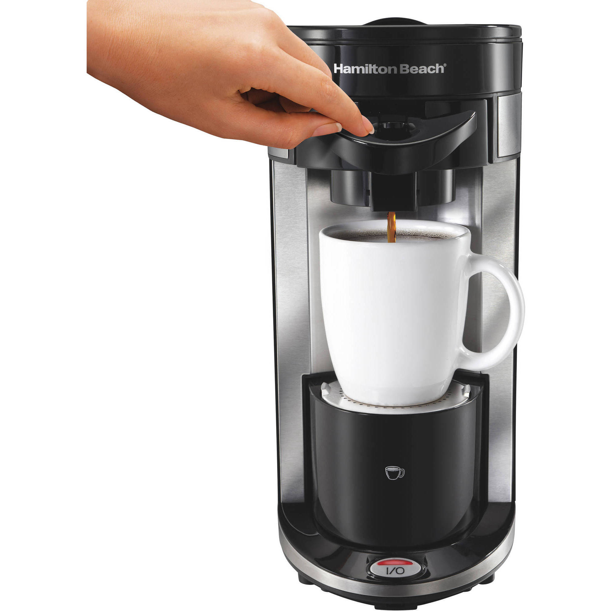Electronic Buffalo Coffee Machine west bend party coffee urn 100 cup walmart com