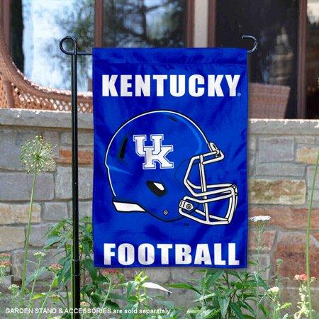 Kentucky UK Wildcats Football Helmet Garden Yard Flag