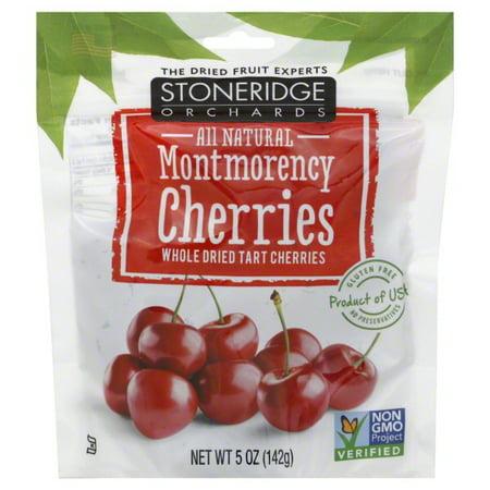 Stoneridge Orchards, Montmorency Cherries, Whole Dried Tart Cherries, 5 oz (142 (Stonebridge Mall)