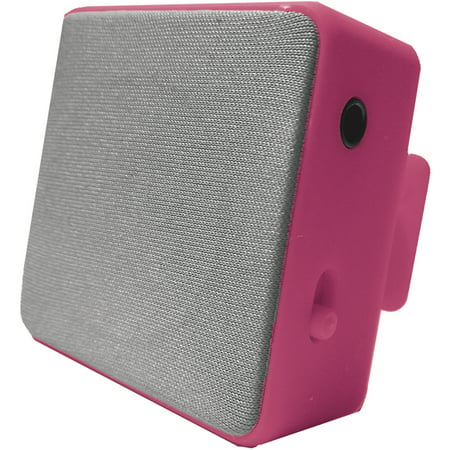 Image of Hype Bluetooth Cube Clip Stereo Speaker, Pink