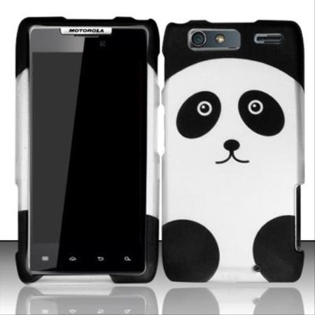 Motorola Razr Faceplates (Design Rubberized Hard Case for Motorola Droid RAZR Maxx XT913 - Panda Bear )