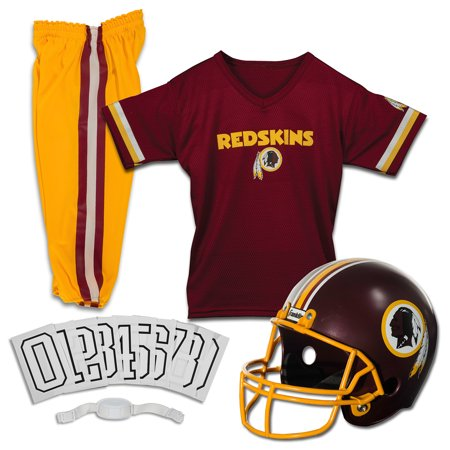 Washington Redskins Team Helmet (Franklin Sports NFL Washington Redskins Youth Licensed Deluxe Uniform Set,)