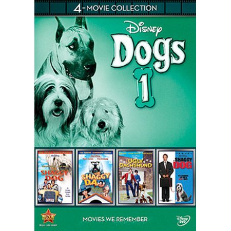 Disney Dogs 1: 4-Movie Collection (DVD) (Halloween 1 Disney Channel)