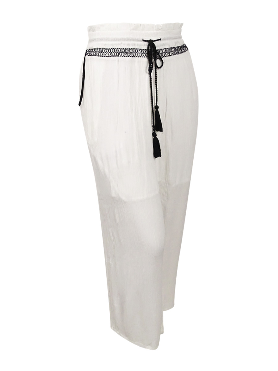 NY Collection Women's Plus Size Palazzo Pants