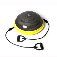 Body Factor Balance Training Ball with Resistance Tubes