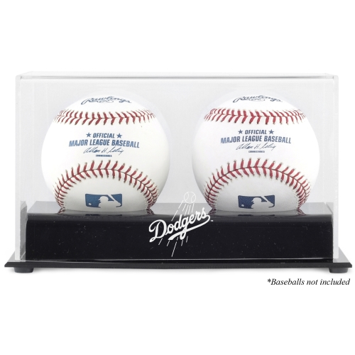 Los Angeles Dodgers Fanatics Authentic Two Baseball Cube Logo Display Case - No Size