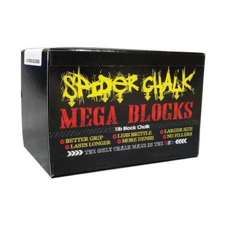 Spider Chalk | Weightlifting Chalk Block(1 lb) - Powerlifting, Rock Climbing, Crossfit Chalk