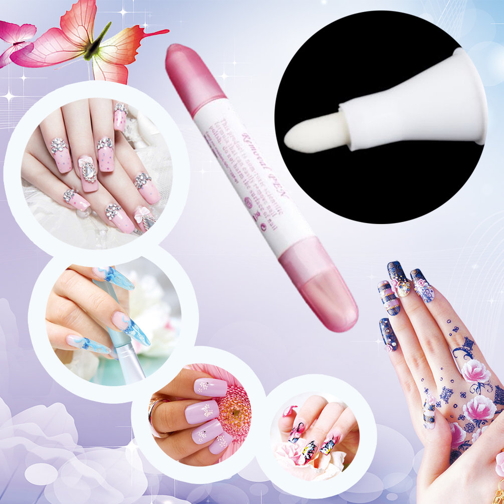 OUTAD - Nail Art Polish Corrector Pen Remover Mistakes 3 Tips Beauty Manicure Tools^